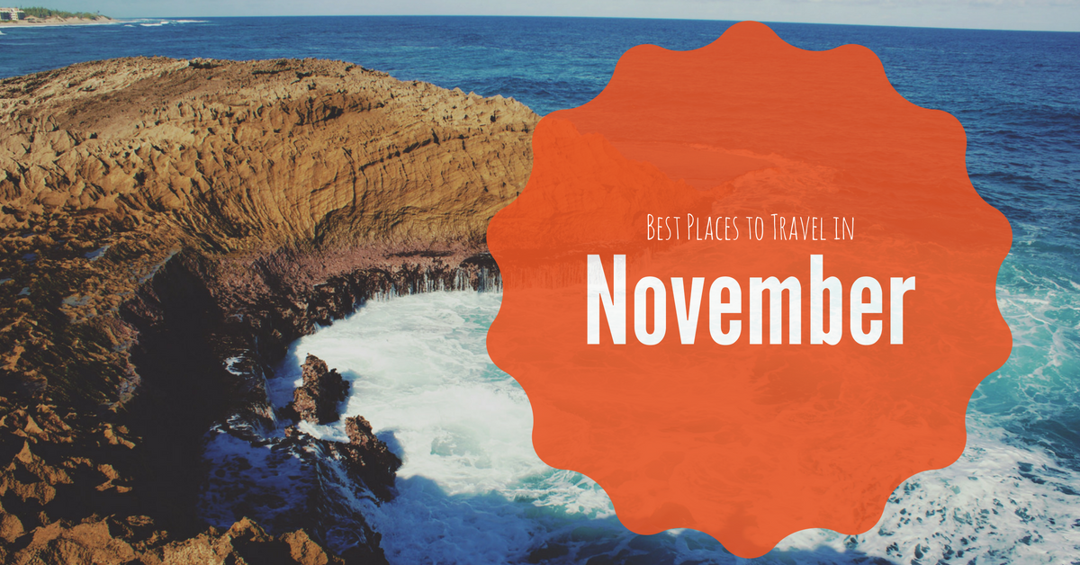 Blog outside agent link for Good places to travel in november